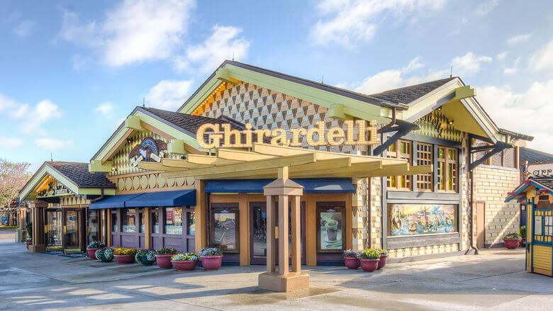 Onde comprar doces em Orlando: Ghirardelli