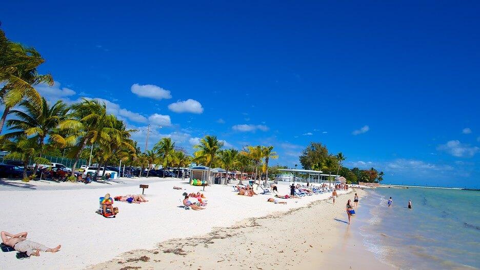 O que fazer em Key West: Higgs Beach