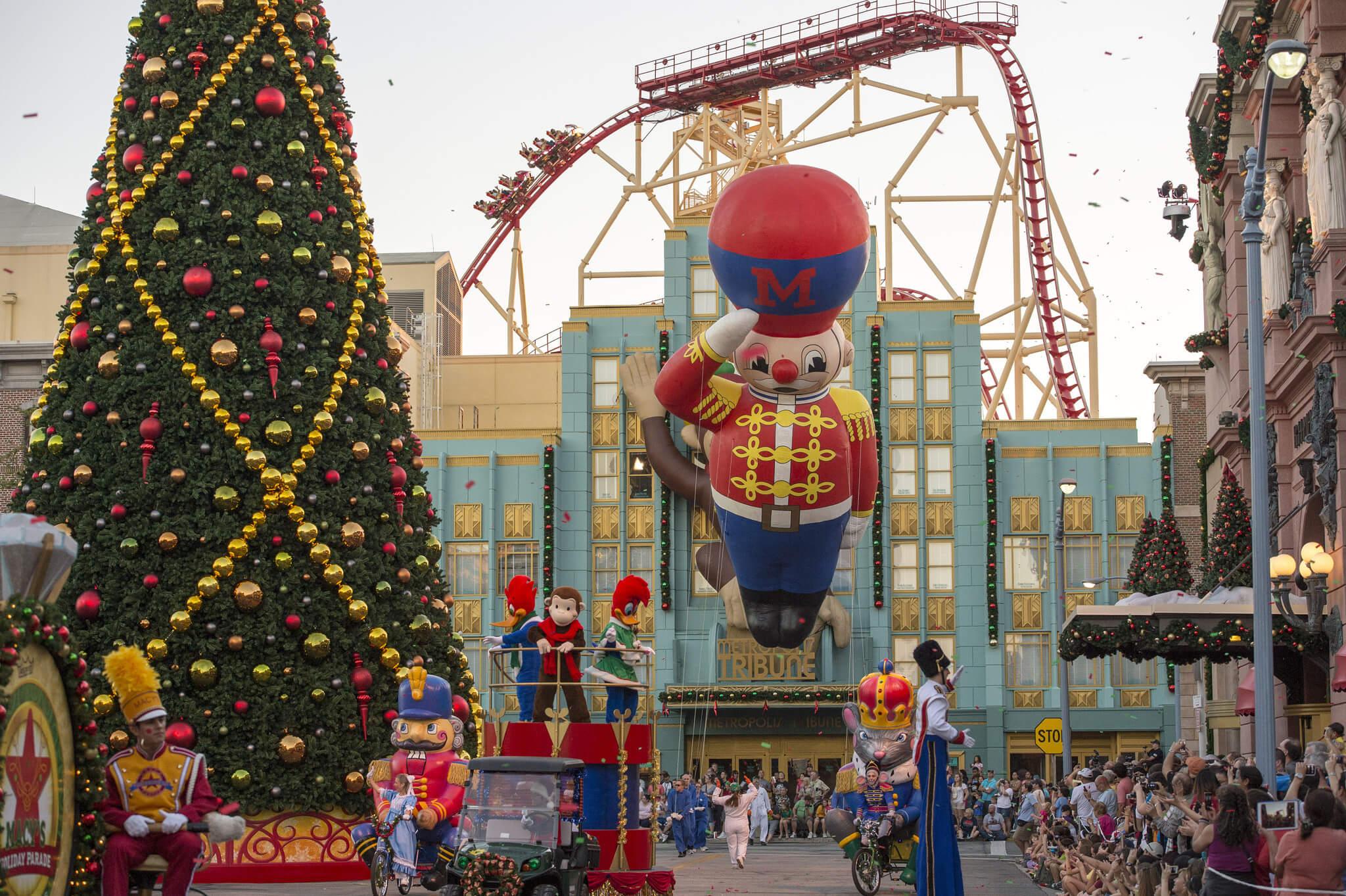 O que fazer no Natal em Orlando em 2018: Macy's Parade no Universal Studios