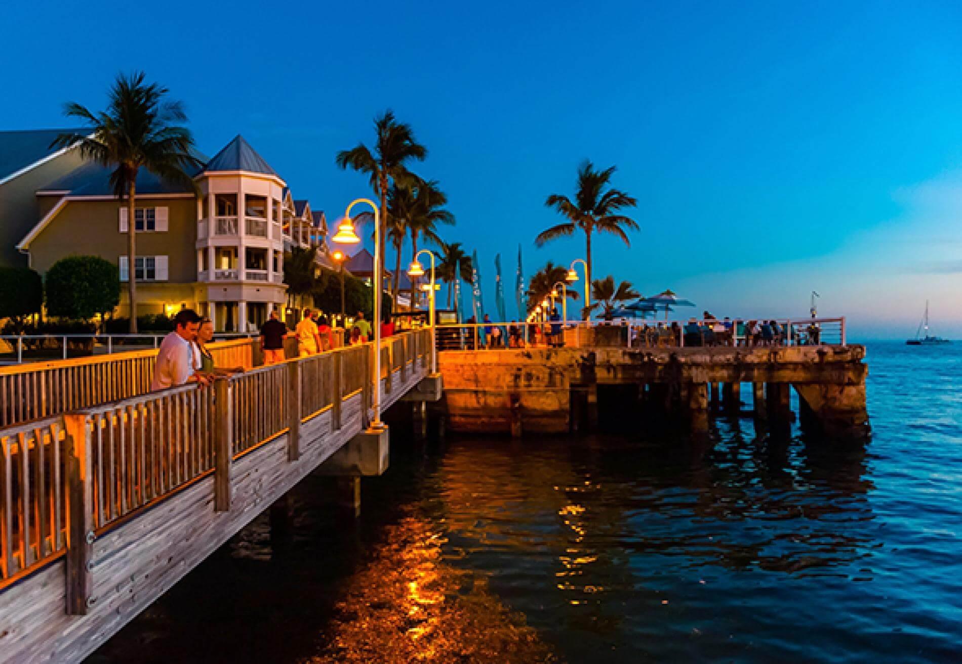 Pontos turísticos em Key West: Mallory Square