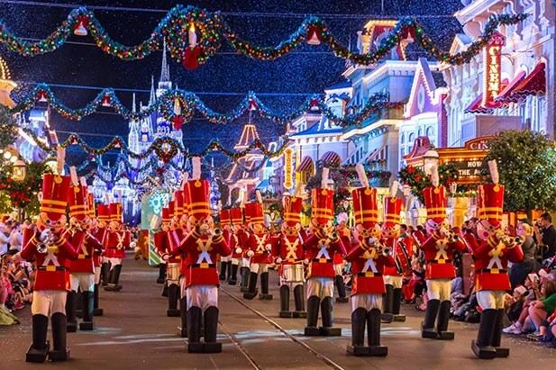O que fazer no Natal em Orlando em 2018: Mickey's Very Merry Christmas Party - soldadinhos de chumbo