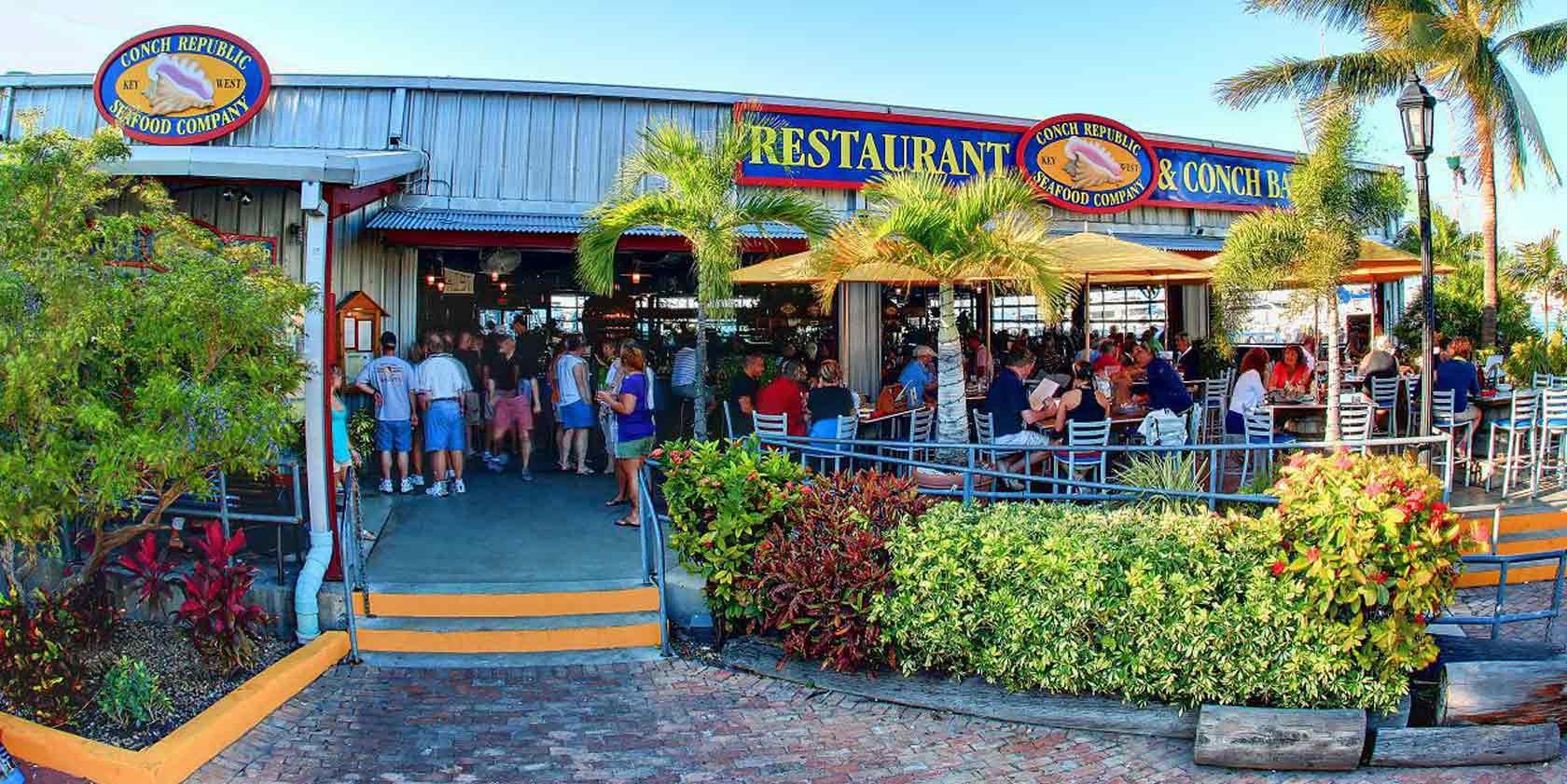 7 restaurantes em Florida Keys: restaurante Conch Republic Seafood em Key West