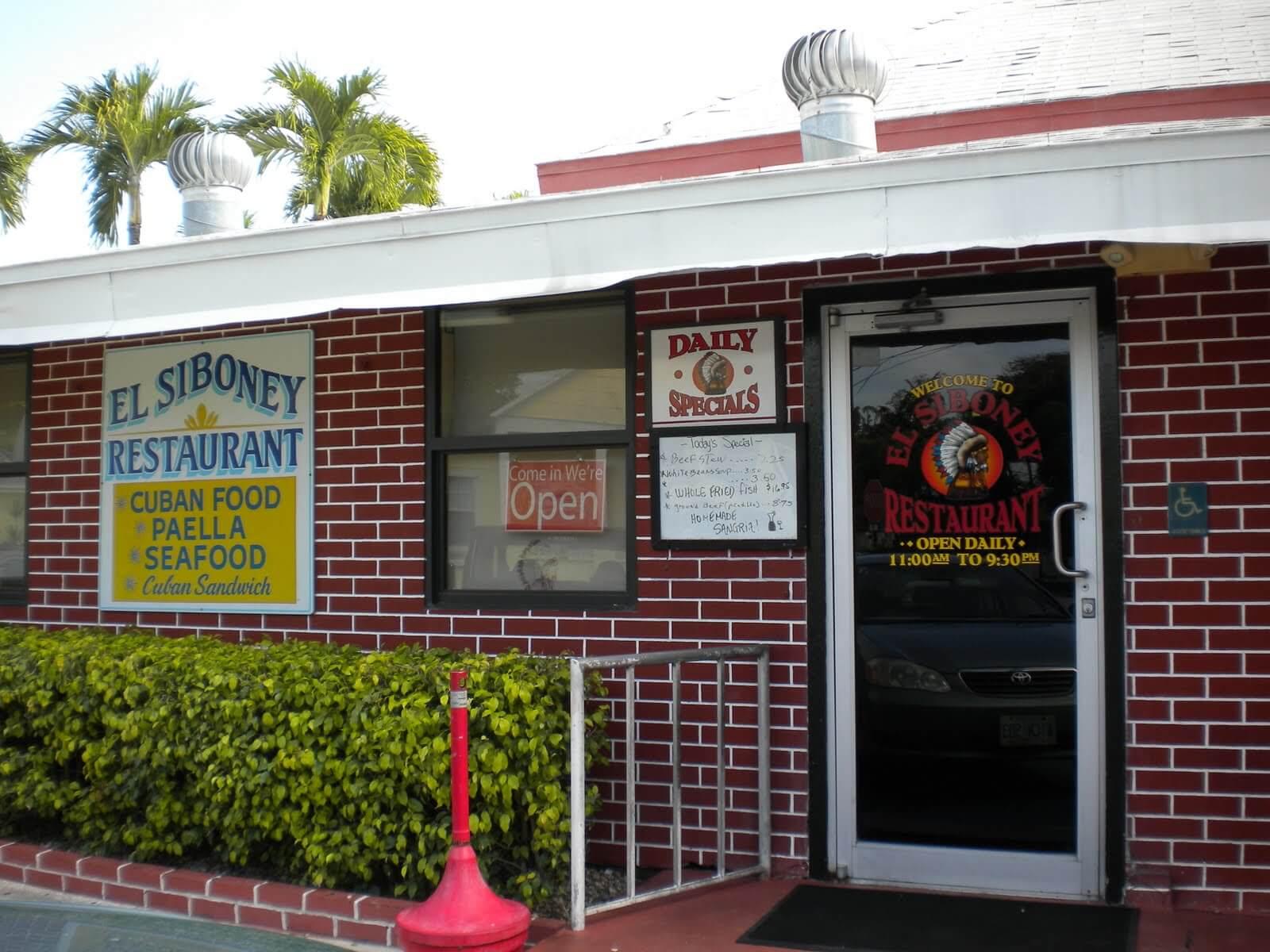 Restaurantes em Key West: restaurante El Siboney