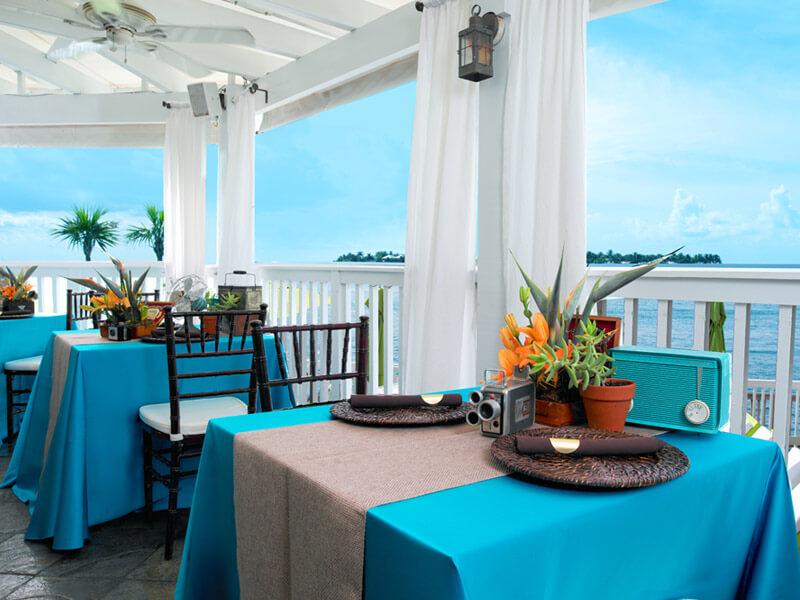 Restaurantes em Key West: restaurante Hot Tin Roof