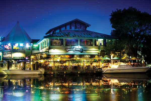 O que fazer à noite em Fort Lauderdale: restaurante Pirate Republic