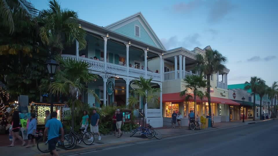 Onde ficar em Key West: Duval Street