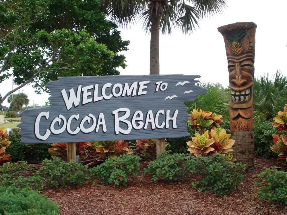Pontos turísticos em Cocoa Beach
