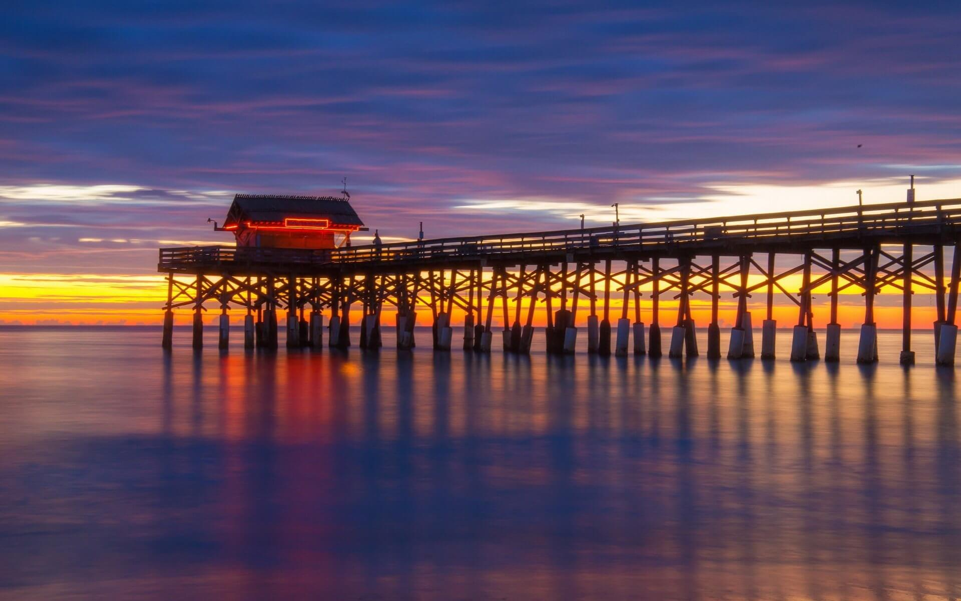 O que fazer à noite em Cocoa Beach: Cocoa Beach Pier