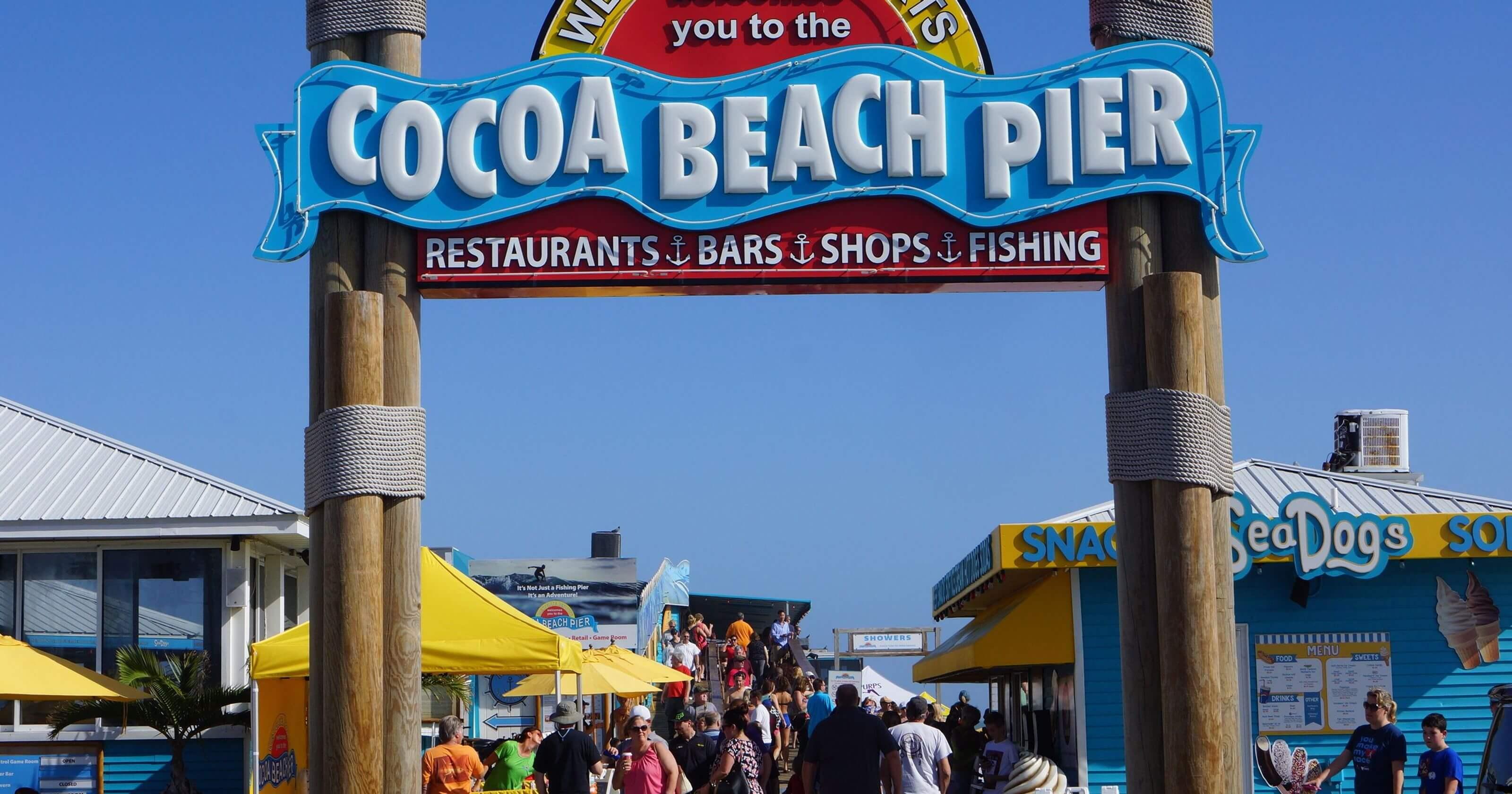 O que fazer em Cocoa Beach: Cocoa Beach Pier
