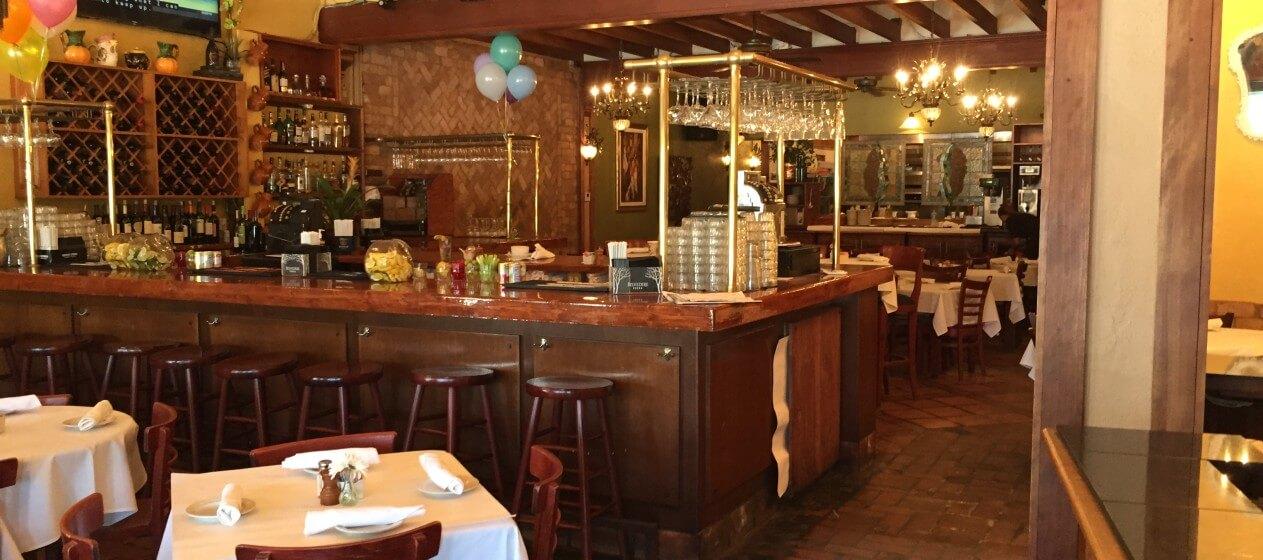 O que fazer à noite em Palm Beach: bar Cucina Dell'Arte