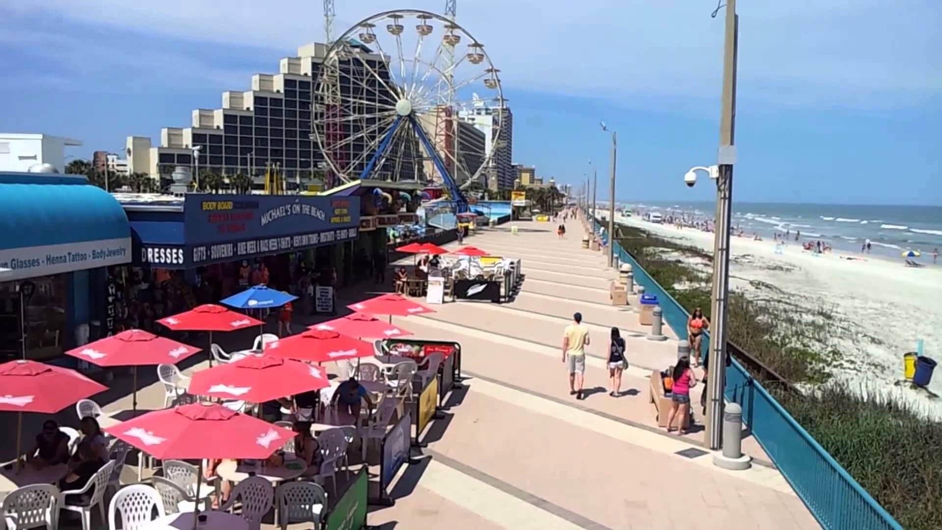 Pontos turísticos em Daytona Beach: Daytona Beach Pier and Boardwalk