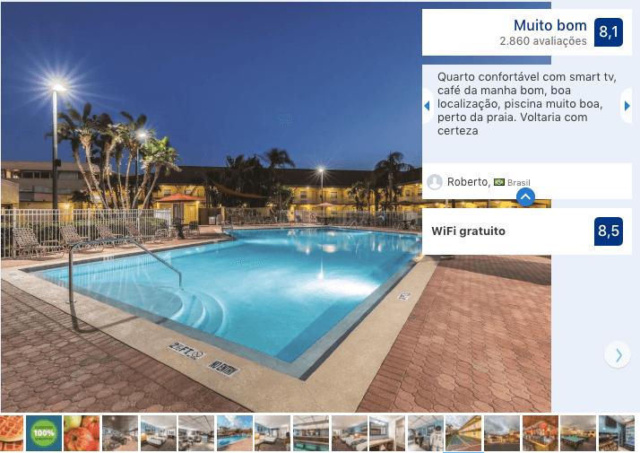 Hotéis bons e baratos em Cocoa Beach: Hotel La Quinta Inn