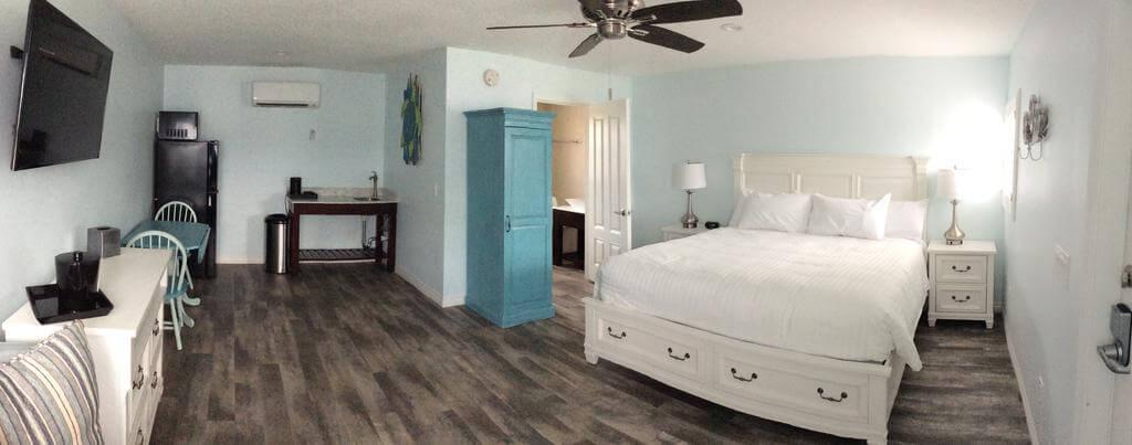 Dicas de hotéis em Cocoa Beach: Hotel Lost Inn Paradise - quarto