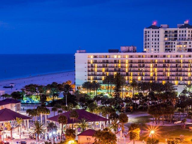 O que fazer à noite em Clearwater: Clearwater Beach