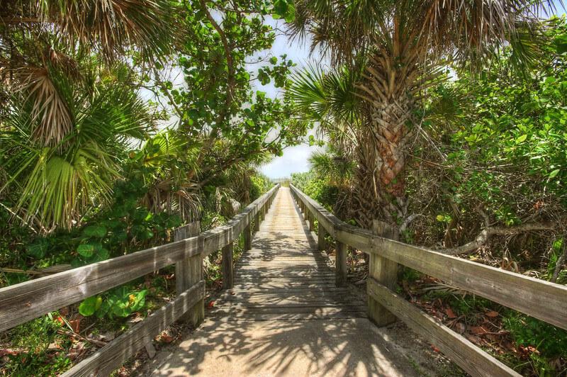 Pontos turísticos em Cocoa Beach: parque