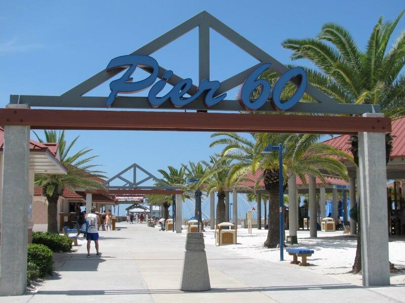 Pontos turísticos em Clearwater: Pier 60