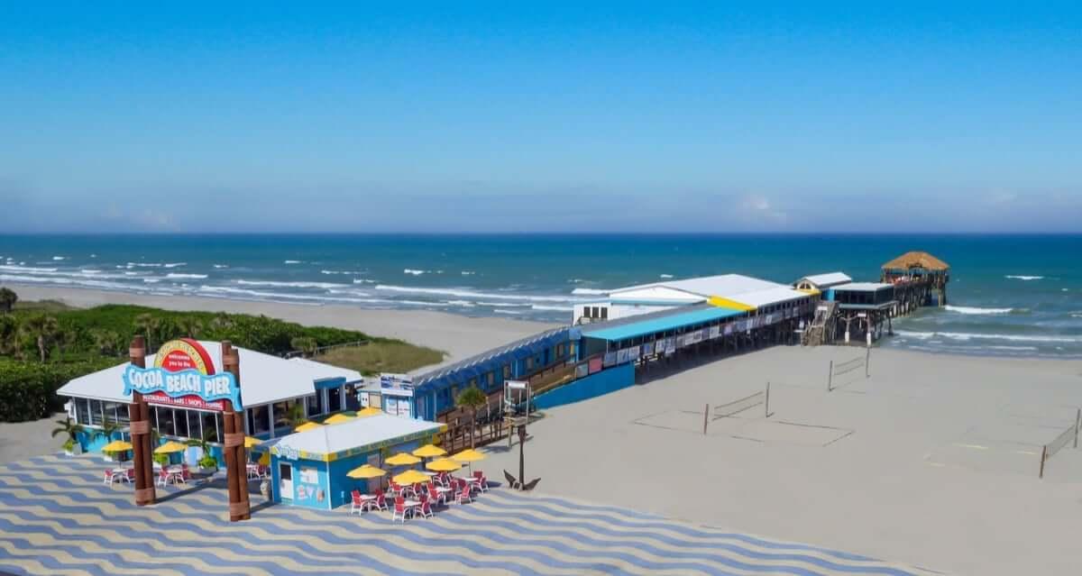 Pontos turísticos em Cocoa Beach: Cocoa Beach Pier