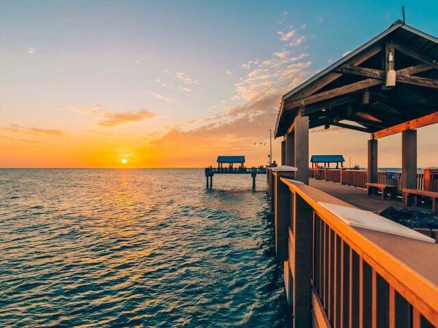 Pontos turísticos em Clearwater: píer