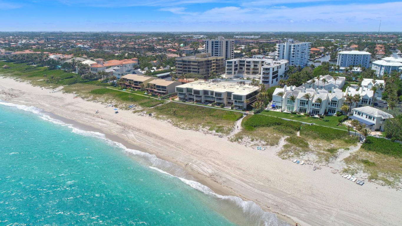 Pontos turísticos em Palm Beach: praia Delray Beach