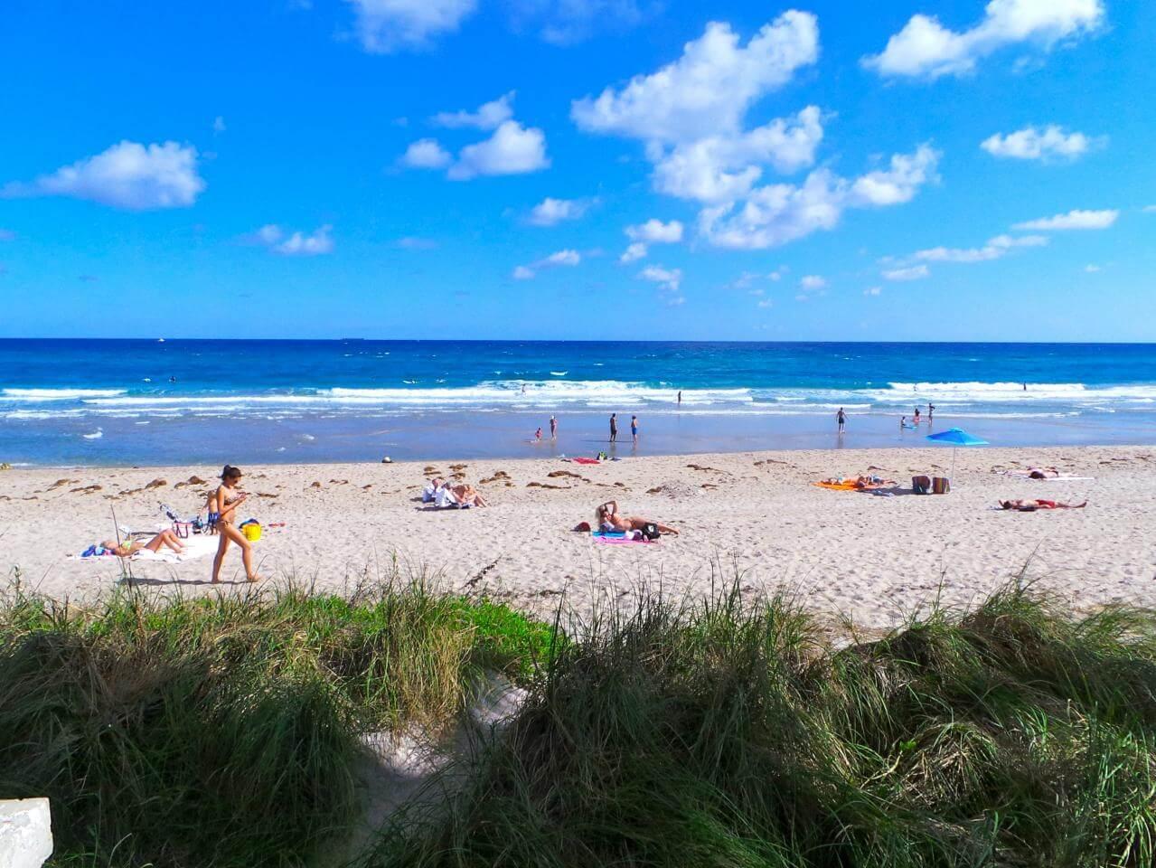 Praias em Palm Beach: praia West Palm Beach