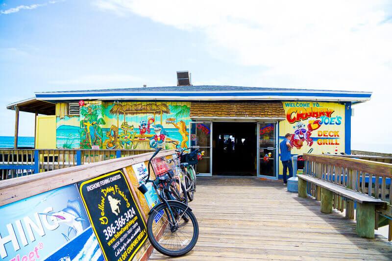 Restaurantes em Daytona Beach: restaurante Crabby Joe's