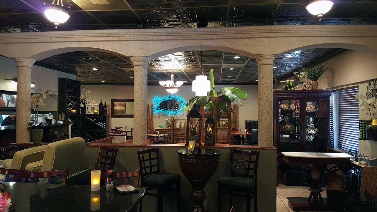 O que fazer à noite em Cocoa Beach: restaurante Florida's Fresh Grill