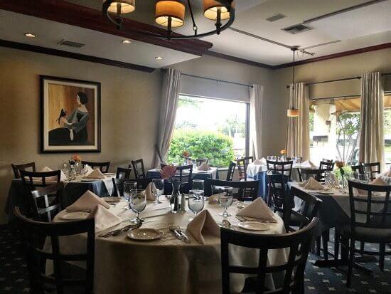Restaurantes em Boca Raton: restaurante La Villetta