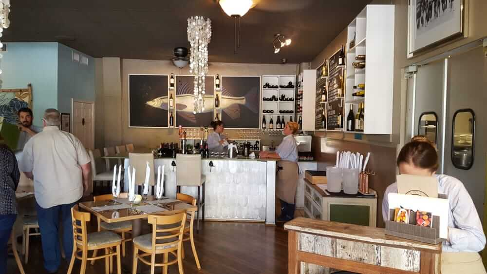 Restaurantes em Cocoa Beach: restaurante The Fat Snook