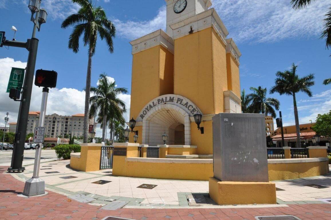 Compras em Boca Raton: Royal Palm Place