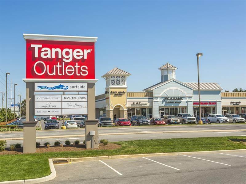 Compras em Daytona Beach: Tanger Outlets