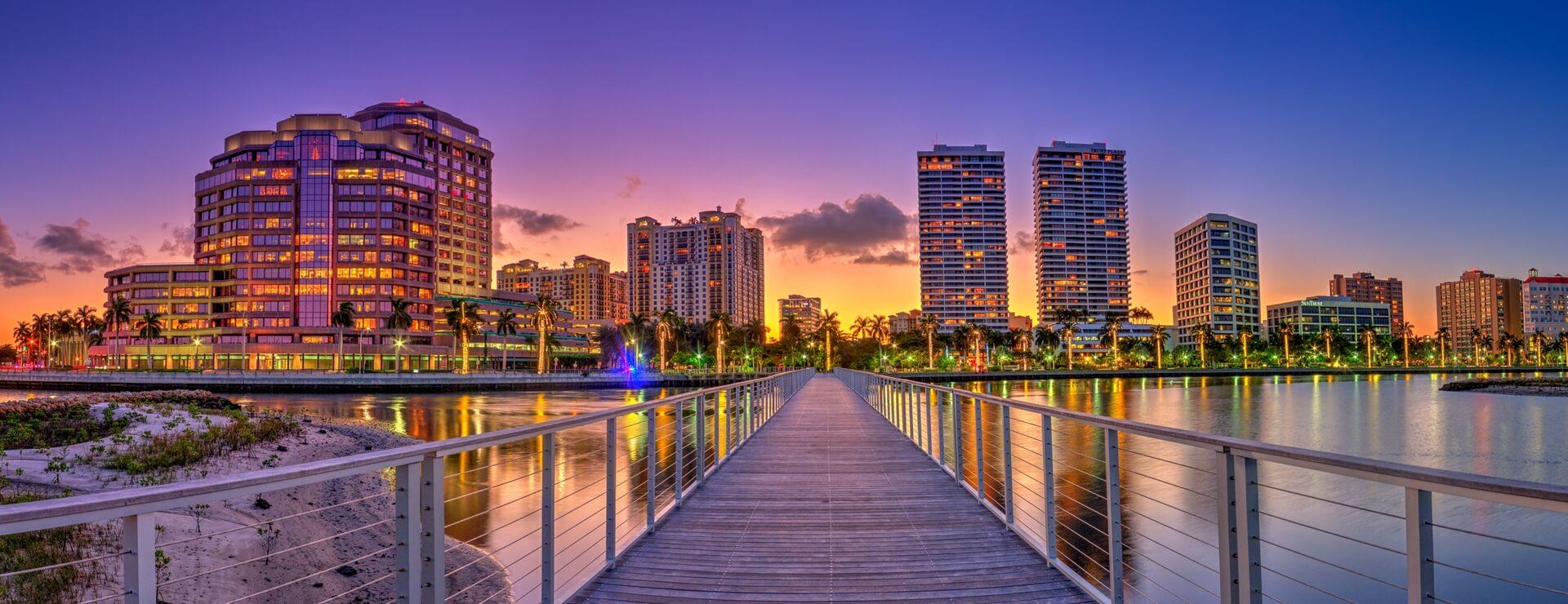 Pontos turísticos em Palm Beach: West Palm Beach