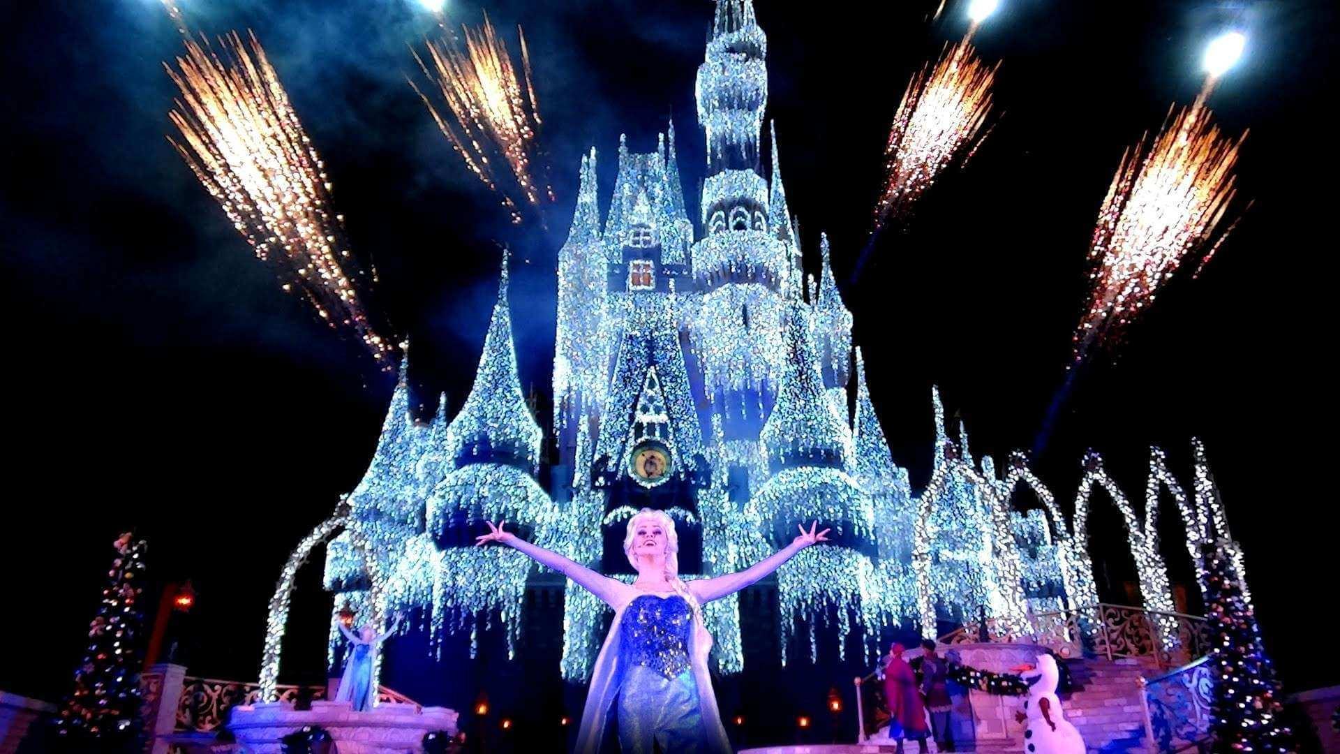 Mickey's Very Merry Christmas Party na Disney Orlando em 2019: A Frozen Holiday Wish