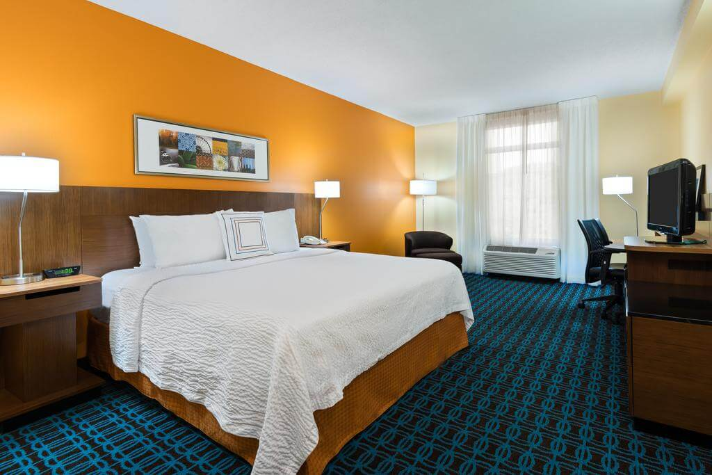 Dicas de hotéis em Clearwater: Hotel Fairfield Inn and Suites by Marriott - quarto
