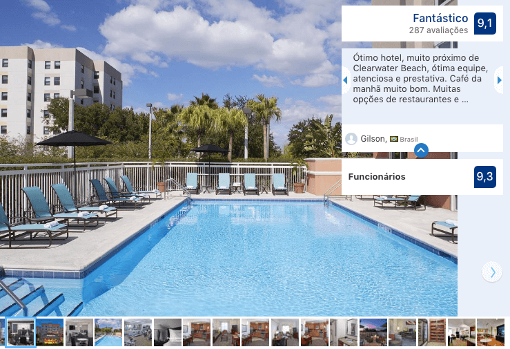 Melhores hotéis em Clearwater: Hotel Residence Inn by Marriott Clearwater Downtown