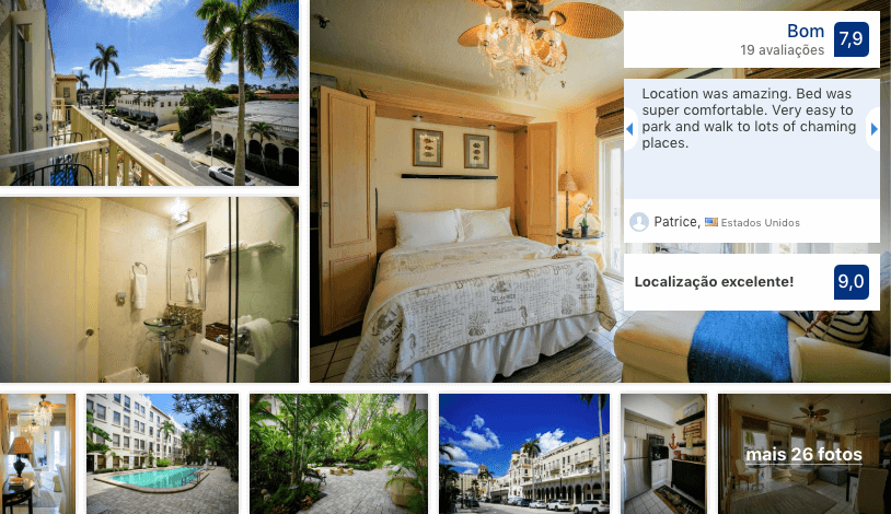 Hotéis bons e baratos em Palm Beach: Palm Beach Hotel