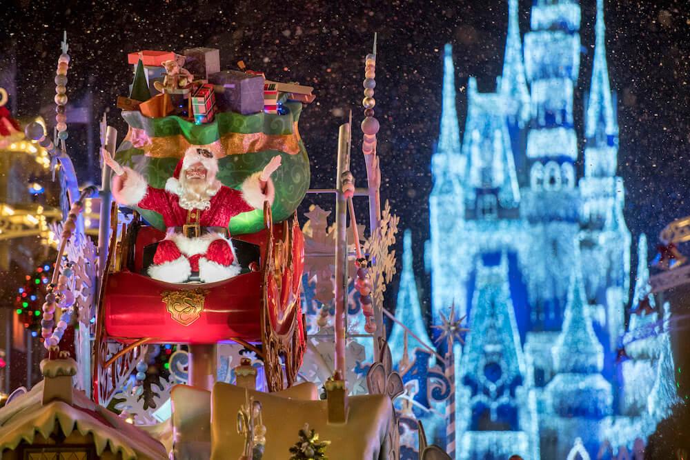 Mickey's Very Merry Christmas Party na Disney Orlando em 2019: Papai Noel