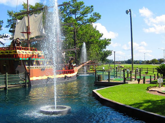 Pirate's Island Adventure Golf em Orlando