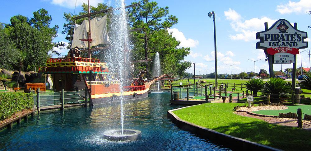 Pirate's Island Adventure Golf em Orlando