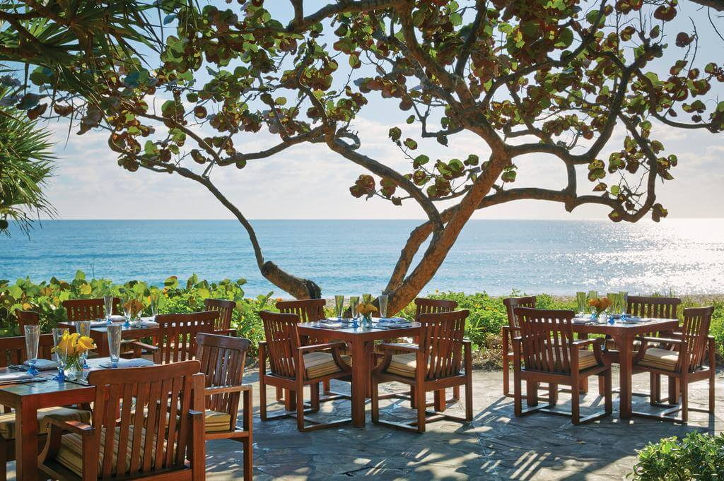 Restaurantes em Palm Beach: restaurante Atlantic Bar & Grill at The Four Seasons