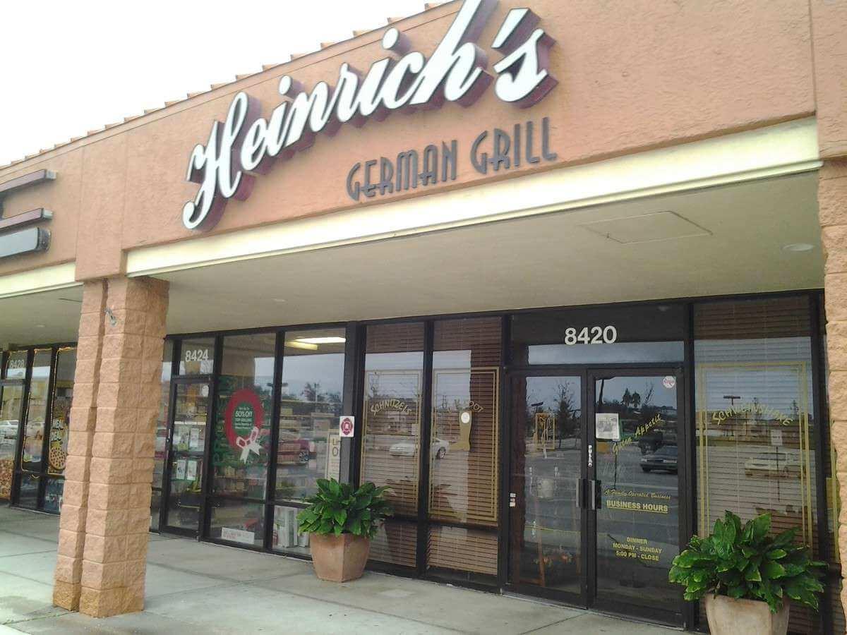 Restaurantes em Sarasota: restaurante Heinrich's German Grill