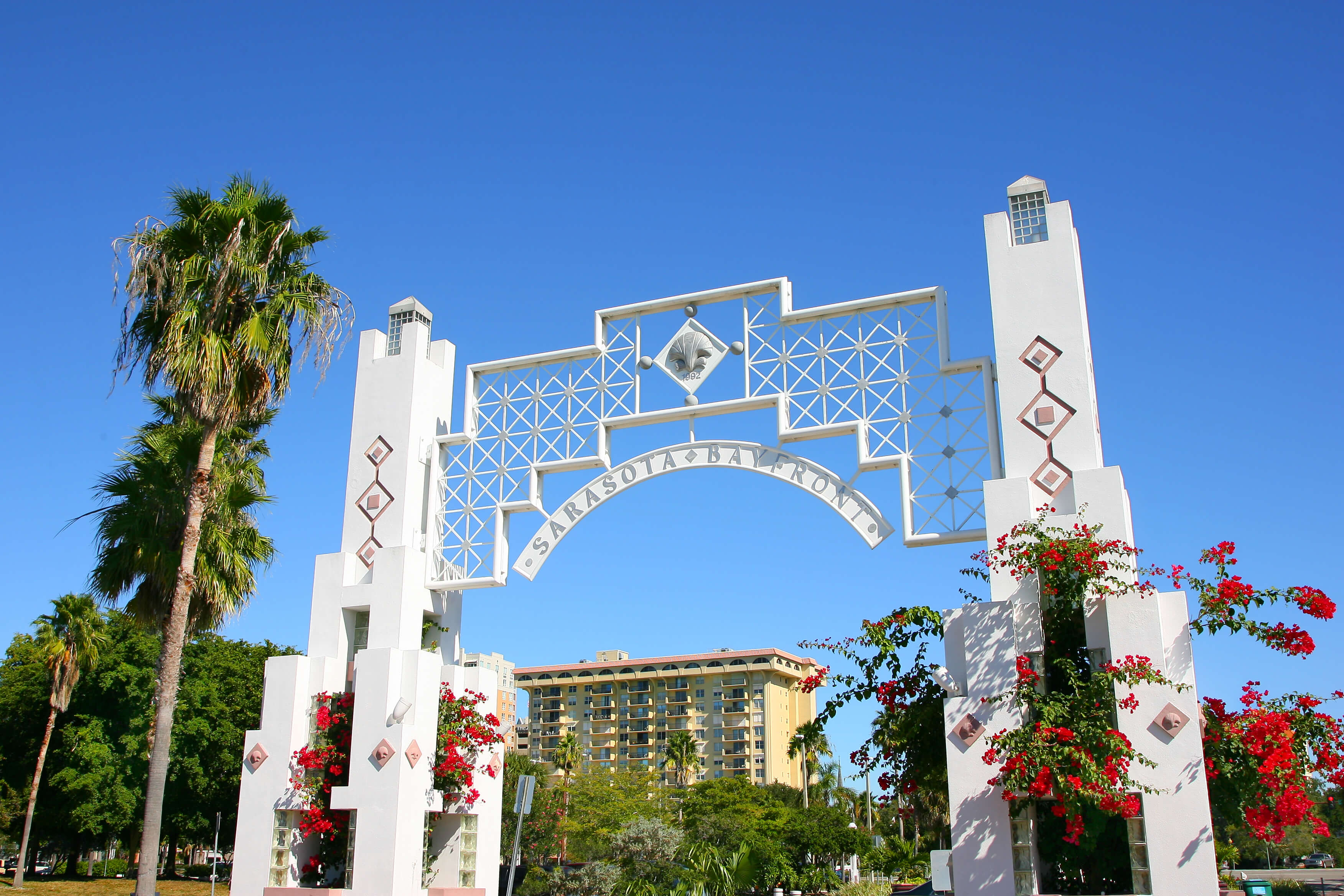 Pontos turísticos em Sarasota: Bayfront Park