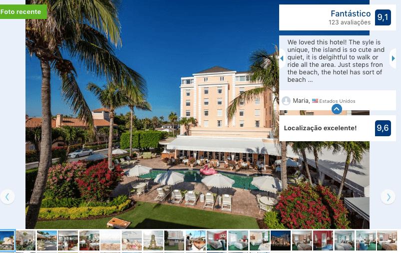 Hotéis de luxo em Palm Beach: The Colony Hotel