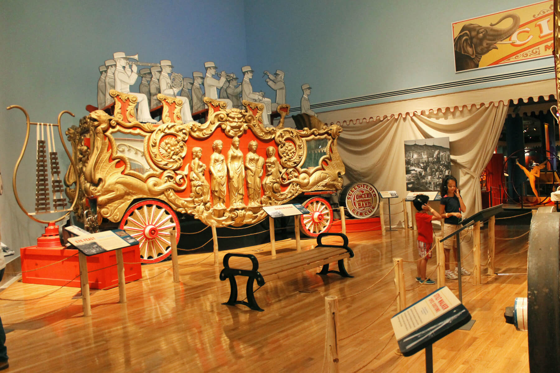 Pontos turísticos em Sarasota: Ringling Circus Museum