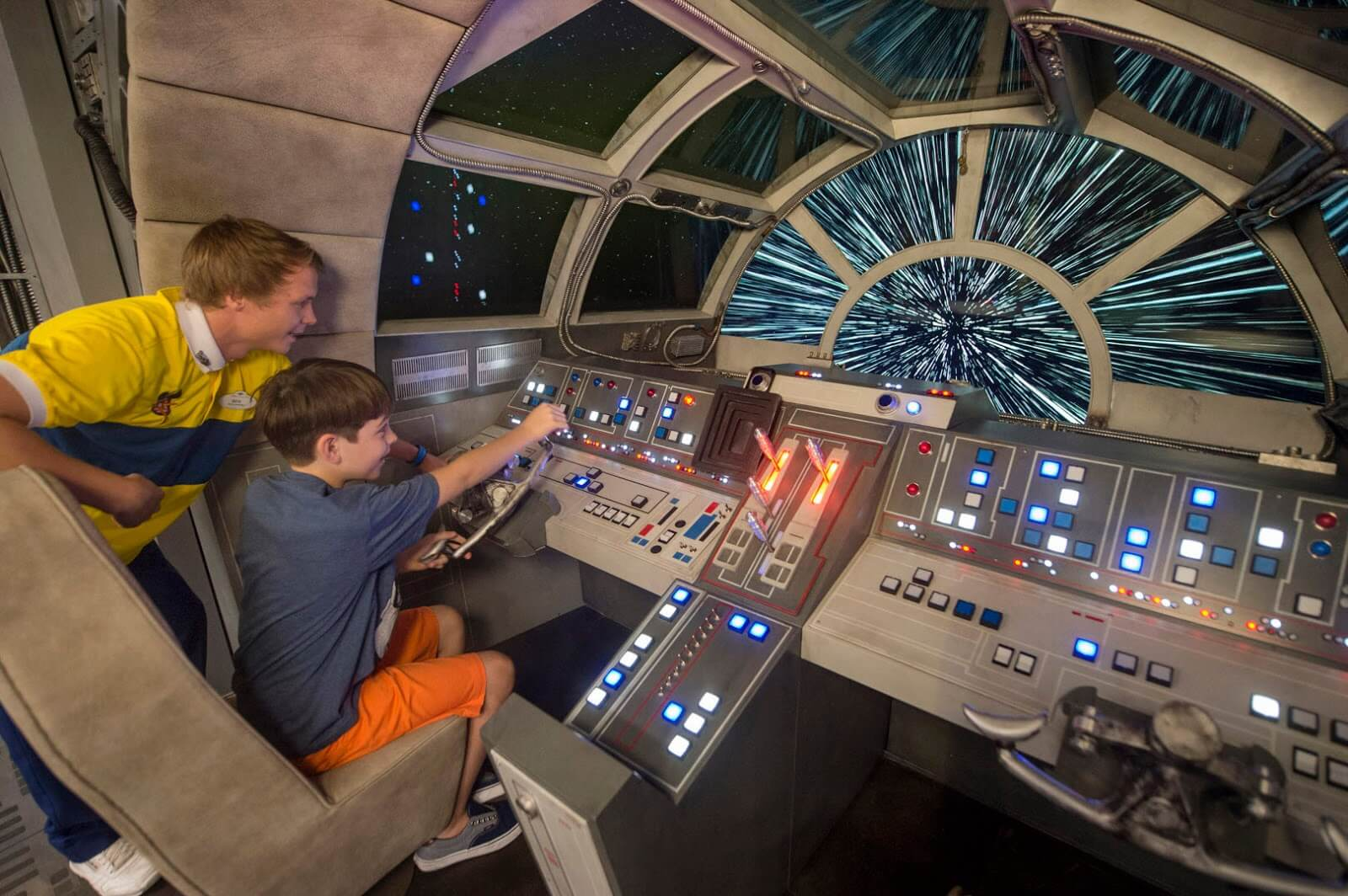 Star Wars: Galaxy's Edge no Disney's Hollywood Studios em Orlando: atração