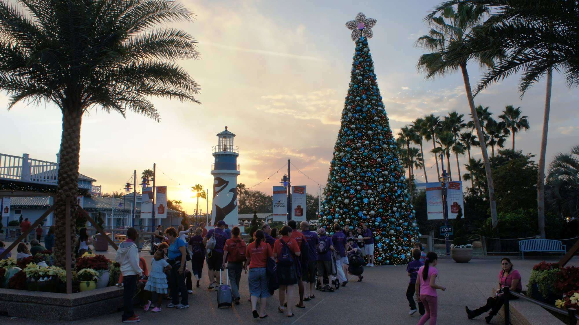 Natal na Universal Orlando em 2019: SeaWorld's Christmas Celebration no SeaWorld