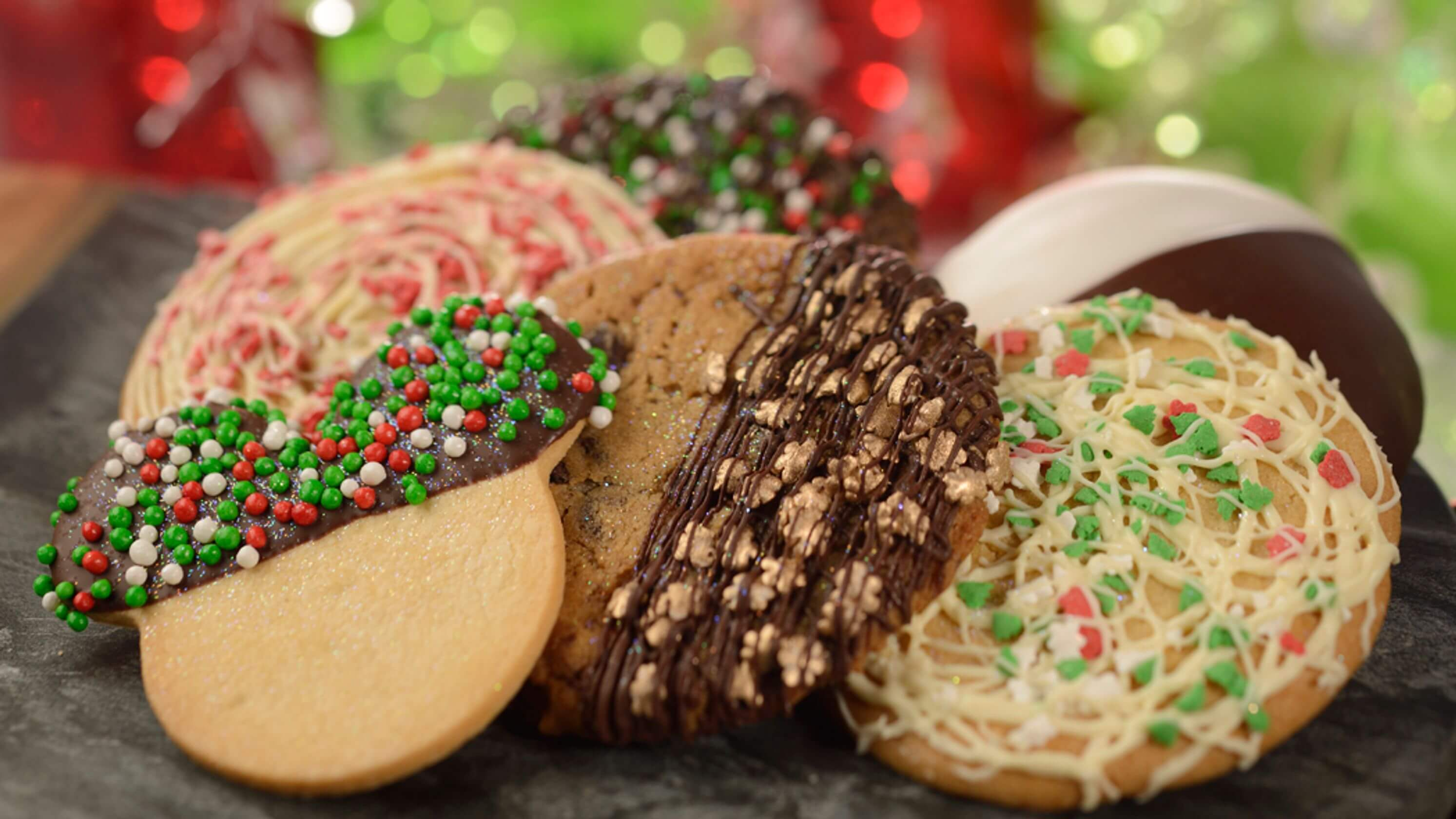 International Festival of the Holidays no Disney Epcot: cookies natalinos