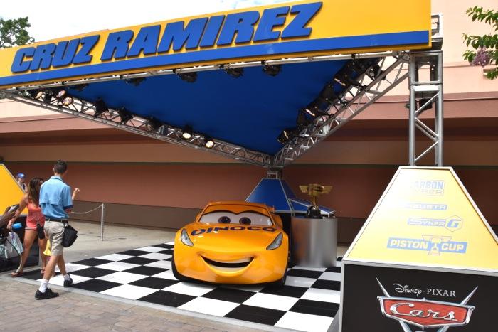 Lightning McQueen's Racing Academy no Disney's Hollywood Studios: Cruz Ramirez
