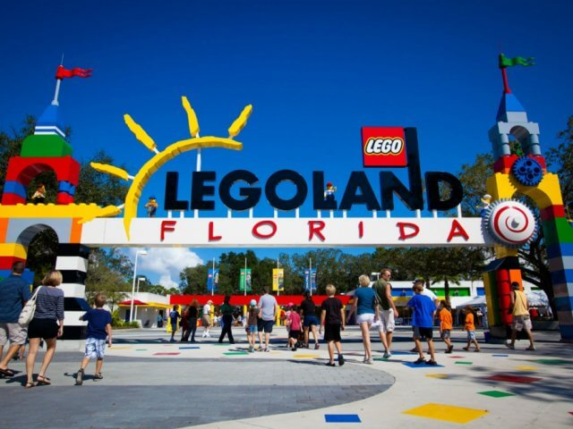 The Lego Movie World na LEGOLAND em Orlando: LEGOLAND Florida