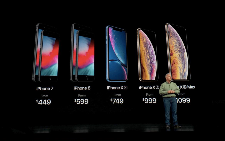 Onde comprar iPhone XS, XS Max e XR em Miami: modelos