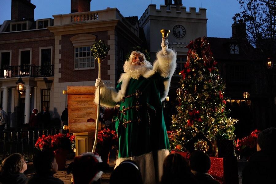 International Festival of the Holidays no Disney Epcot: Papai Noel